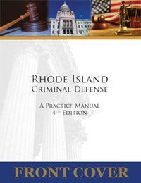 RI Criminal Defense Practice Manual Cover