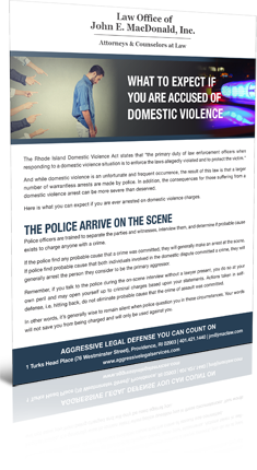 What to Expect if you are excused of Domestic Violence